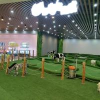 山东临沂室内18洞迷你高尔夫球场完工