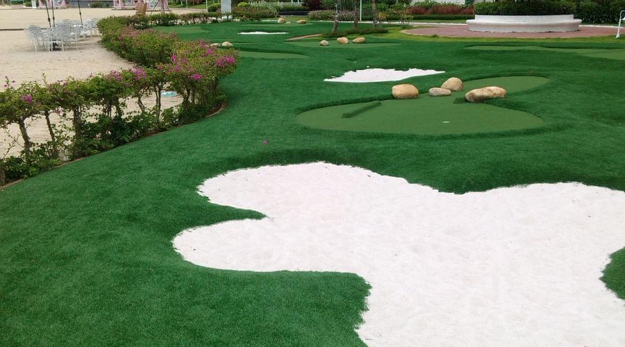 莱蒙水榭湾迷你高尔夫球场
